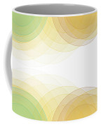 Jura Semi Circle Background Horizontal Coffee Mug