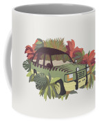 Jurassic Car Coffee Mug