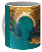 Jurassic Coast From The Air Coffee Mug