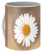 Just A Lonely Flower On Canvas Coffee Mug