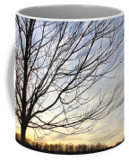 Just A Tree And Clouds Coffee Mug