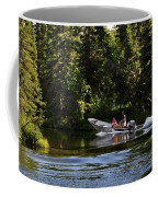 Just Around The River Bend Coffee Mug