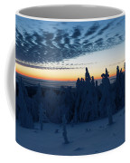 Just Before Sunrise On The Brocken In The Harz Mountains Coffee Mug