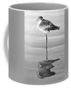 Just Being Coy - Bw Coffee Mug