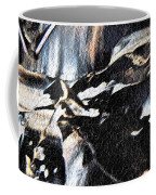 Just Black And White Coffee Mug