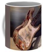 Just Broken In- Old Guitar Coffee Mug