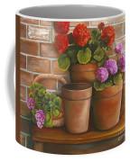 Just Geraniums Coffee Mug