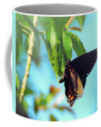 Just Hanging Out - Red-spotted Purple Butterfly Coffee Mug
