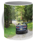 Just Married In The Car Coffee Mug
