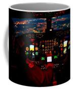 K C - 135 Stratotanker Cockpit Coffee Mug