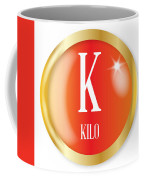 K For Kilo Coffee Mug