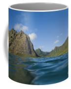 Kaaawa Valley From Ocean Coffee Mug