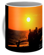 Kaanapali Beach Outrigger Sunset Coffee Mug