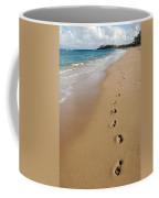 Kaanapali Footprints In The Sand Coffee Mug