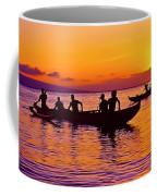 Maui Hawaii Kaanapali Outrigger Sunset Coffee Mug