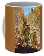 Flows Down The Cliff Coffee Mug