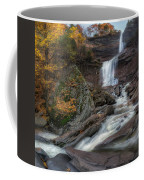 Kaaterskill Falls Autumn Square Coffee Mug
