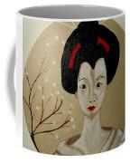 Kabuki Girl Coffee Mug