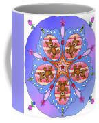 Kaleidoscope Of Bears And Bees Coffee Mug