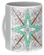 Kaleidoscope Of Winter Trees Coffee Mug