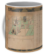Kamakura Period    Illustrated Biography Of Hnen Shikotokden E Coffee Mug