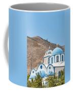 Kamari Church And Mountain Coffee Mug