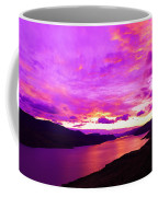 Kamloops Lake At Dawn Coffee Mug