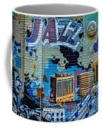 Kansas City Jazz Mural Coffee Mug