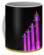 Kansas City Pylons In Pink Coffee Mug