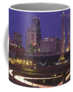 Kansas City Skyline 1998 Coffee Mug