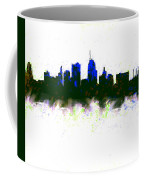 Kansas City Skyline Blue  Coffee Mug