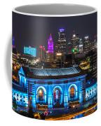 Kansas City Vibrant At Night Coffee Mug