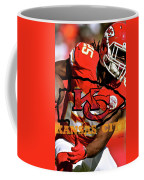Kareem Hunt, Kansas City Chiefs Coffee Mug