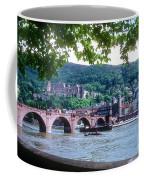 Karl Theodor Bridge And Heidelberg Castle  Coffee Mug