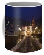 Karl Theodor Bridge With The Castle Coffee Mug