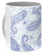 Kasbah Blue Paisley Coffee Mug