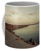 Kasimedu Pier, Chennai Coffee Mug