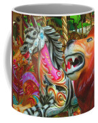 Kate The Zebra And  Lion Carousel  Coffee Mug