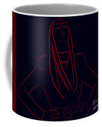 Katy Perry Silhouette Coffee Mug