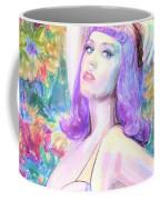Katy Perry Watercolor, Coffee Mug
