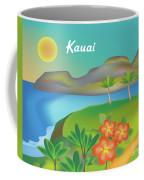 Kauai Hawaii Horizontal Scene Coffee Mug