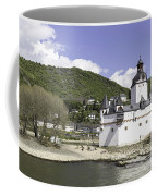 Kaub And Burg Pfalzgrafenstein Coffee Mug
