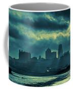 Kaw Point Kansas City Skyline Coffee Mug