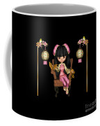 Kawaii China Doll Scene Coffee Mug