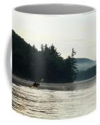Kayak In The Fog Coffee Mug