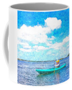 Kayak Lesson Coffee Mug