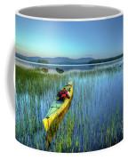 Kayak Sunrise Coffee Mug