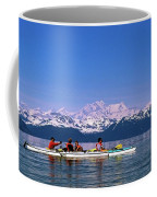 Kayakers In Alaska Coffee Mug
