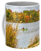 Kayaking In Fall Coffee Mug