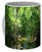 Kayaking In Tropical Paradise Coffee Mug